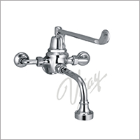 Cat No. 1043A C.P. Elbow Action Single Wall Mixer