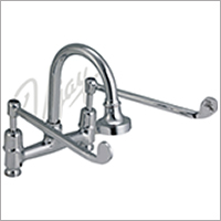 Cat No. 1108  C.P. Double Elbow Action Surgical Basin Mixer Pillar Type